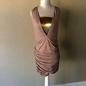 TOBI mauve dress